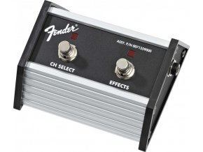 """Fender 2-Button Footswitch: Channel Select / Effects On/Off with 1/4"""" Jack"""