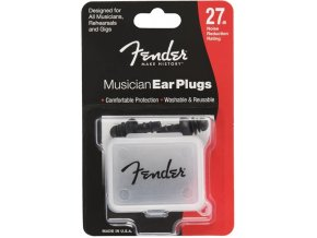 Fender Musician Series Ear Plugs, Black