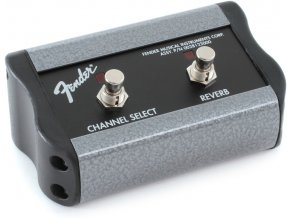 "Fender 2-Button Footswitch: Channel / Reverb On/Off with 1/4"" Jack"