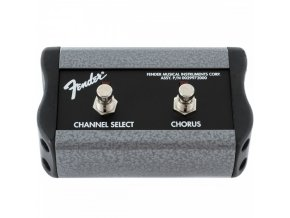 "Fender 2-Button Footswitch: Channel / Chorus On/Off with 1/4"" Jack"