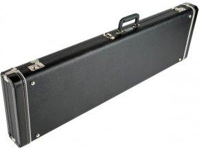 Fender G&G Standard Strat/Tele Hardshell Case, Black with Black Acrylic Interior