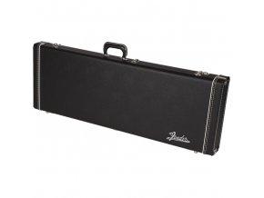 Fender G&G Deluxe Jaguar/Jazzmaster/Toronado/Jagmaster Hardshell Case, Black wit