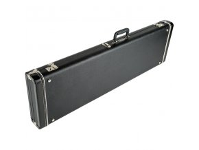 Fender G&G Standard Mustang/Musicmaster/Bronco Bass Hardshell Case, Black with A