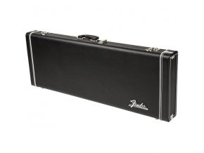 Fender Pro Series Stratocaster/Telecaster Case - Black with Black Acrylic