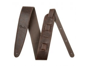 "Fender Artisan Crafted Leather Strap, 2.5"" Brown"