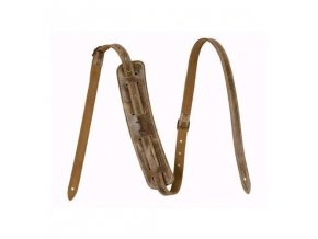 Fender Vintage-Style Distressed Leather Strap, Brown