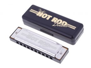 Fender Hot Rod Deluxe Harmonica, 7 Pack with Case
