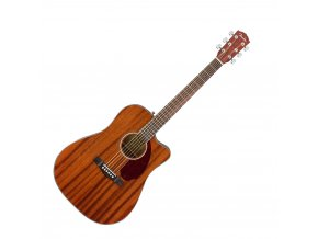Fender CD-140SCE Mahogany with Case, Natural