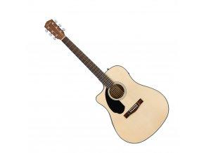 Fender CD-60SCE Left-Hand, Natural