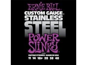 Ernie Ball Slinky Stainless Power.011-.048