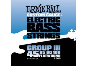 Ernie Ball Flatwound Group III.045-.100