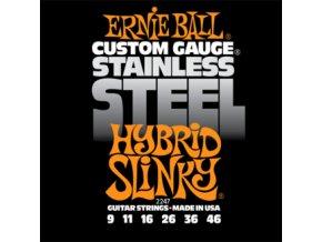 Ernie Ball Slinky Stainless Hybrid.009-.046