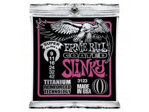 Ernie Ball Coated Slinky Titanium Super.009-.042