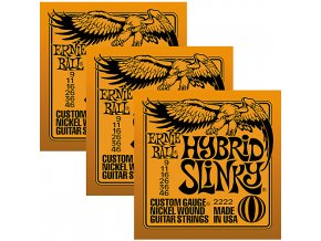 Ernie Ball Slinky Nickel 3-Pack Hybrid.009-.046