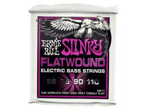 Ernie Ball Slinky Flatwound Power.055-.110