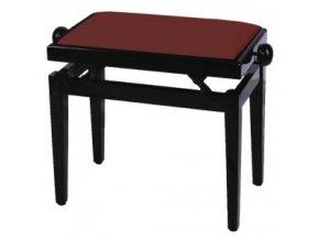GEWApure Piano bench FX Mahogany highgloss