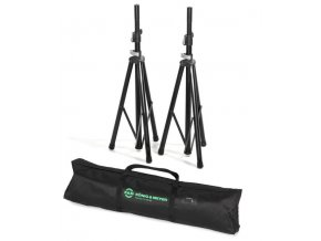 K&M 21449 Speaker stand package black