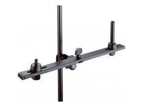 K&M 15268 Pan pipe holder, black