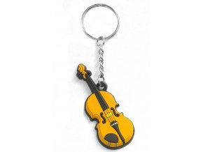 Musician Designer Music Key Chain Violin