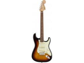 fender deluxe roadhouse stratocaster pau ferro fingerboard 3 color sunburst [2] 21098 p