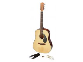 Fender CD-60S Dreadnought Pack, Natural