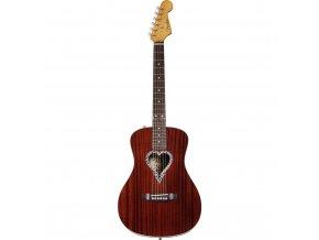 fender alkaline trio malibu acoustic guitar natural 1 GIT0023358 000
