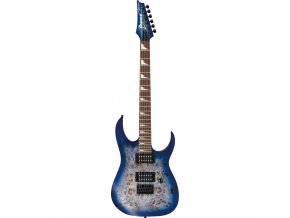 ibanez rgrt621dpbblf rg standard 6 string electric 1386425