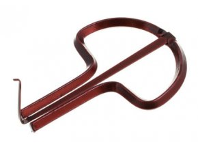 Orig. Schwarz Jew's-harp Colourful lacquered 75 mm, no.12
