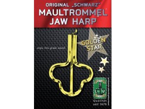 Orig. Schwarz Jew's-harp Golden Star 82mm, No. 15