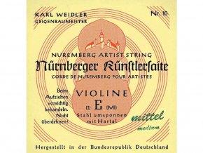 Nurnberger Strings For Violin Kuenstler strand core 1/16