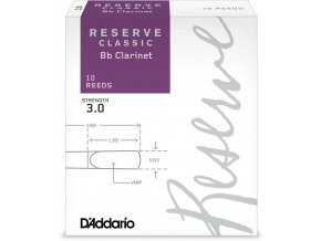 RICO DCT1030 RESERVE CLASSIC Bb klarinet  3.0