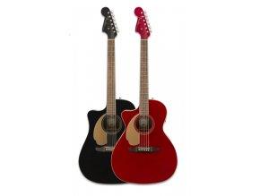 Fender Redondo Plyr LH Jetty Blk WN