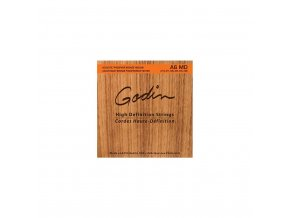 godin a6 md acoustic high definition strings