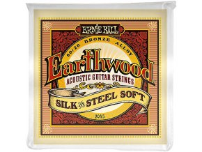 Ernie Ball Earthwood Silk & Steel Soft 80/20 Bronze Acoustic Guitar Strings