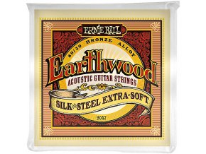 Ernie Ball Earthwood Silk & Steel Extra Soft 80/20 Bronze Acoustic Guitar Strings