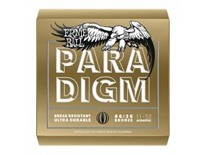 Ernie Ball Paradigm Light 80/20 Bronze Acoustic Guitar Strings