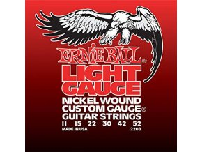 Ernie Ball Light Nickel Wound w/ wound G Electric Guitar Strings