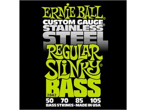 Ernie Ball Regular Slinky Stainless Steel Electric Bass Strings