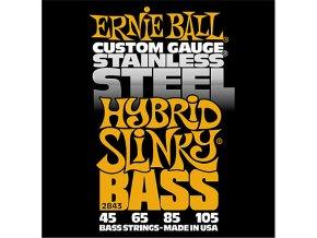 Ernie Ball Hybrid Slinky Stainless Steel Electric Bass Strings