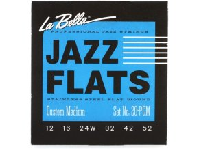 La Bella 20PCM Jazz Flats