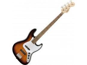 Squier Affinity Series Jazz Bass, Laurel Fingerboard, Brown Sunburst 1