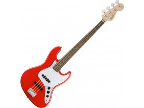 Squier Affinity Series Jazz Bass, Laurel Fingerboard, Race Red 2a