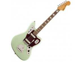 Squier Classic Vibe '70s Jaguar, Laurel Fingerboard, Surf Green 0