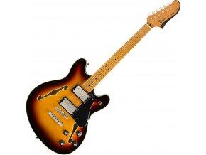 Squier Classic Vibe Starcaster, Maple Fingerbaord, 3 Color Sunburst 1