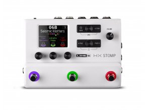 HX Stomp Limited Edition White top