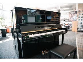 Yamaha U3H Piano used, Black Polished