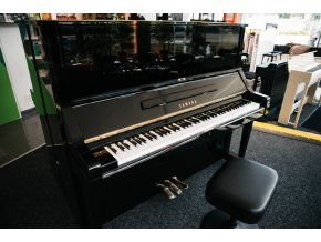 Yamaha UX Piano used, Black Polished