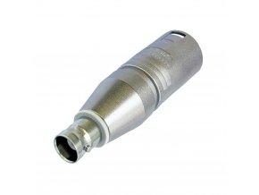 NEUTRIK Adapter XLR-Stecker auf BNC