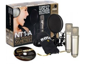 Rode NT1-A PÁR Výběrová dvojice mikrofonů