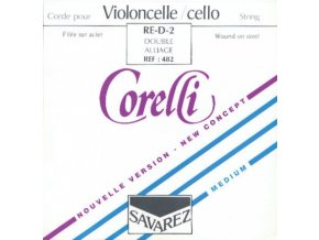 Corelli Strings For Cello Steel 480